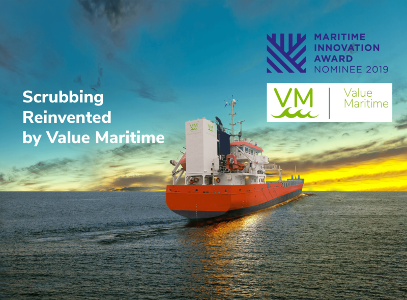 Value Maritime is nominated for the Maritime Innovation Award.