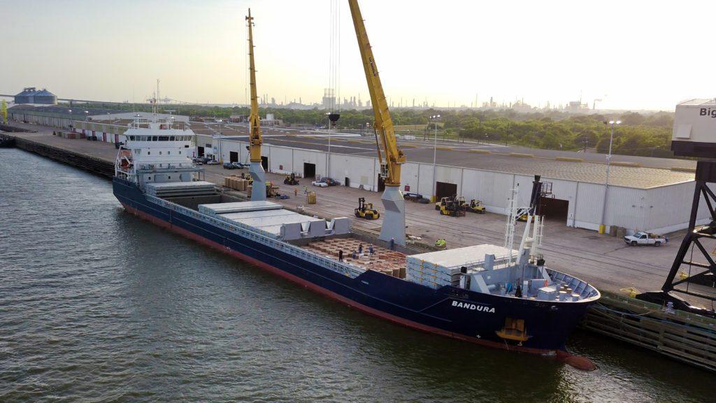 Vessel bandura from Noordwijk Ocean services